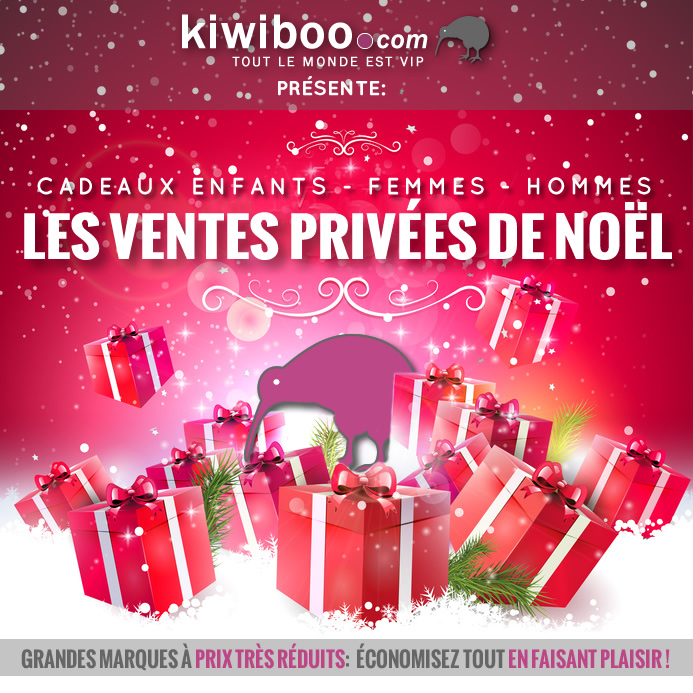 No l des cadeaux en vente priv e sur le portail des ventes priv es et des - Vente de cadeaux de noel ...