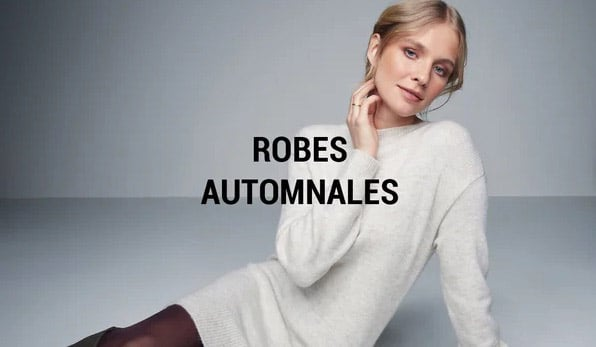 Vente privee robes d'automne