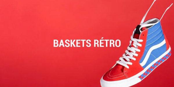 baskets rétro