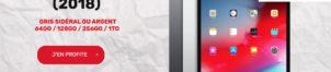Ipad Pro 12,9″ (2018) à partir de 566,99€