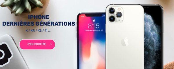 Iphone dernières générations