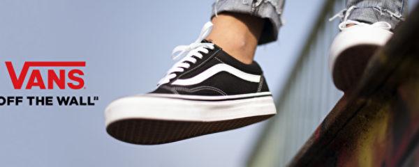Vans : chaussures et textile streetwear