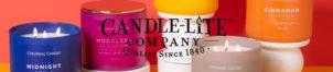 Bougies parfumées Candle-Lite