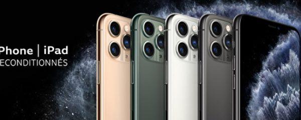 Apple reconditionnés : iPhone & iPad
