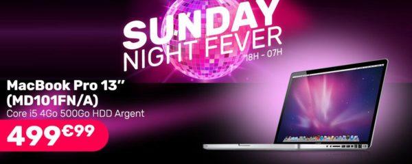 Macbook Pro 13″ à 499,99€