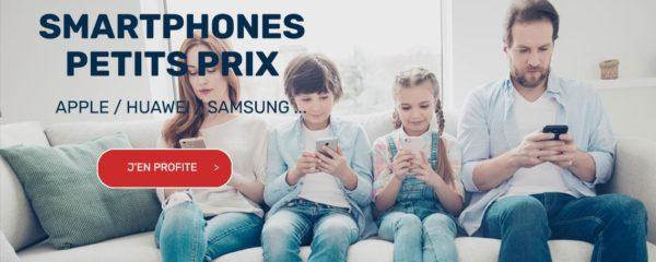 Les smartphones à petits prix