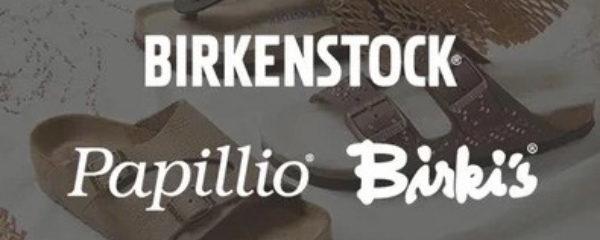 Birki's, Birkenstock et papillio
