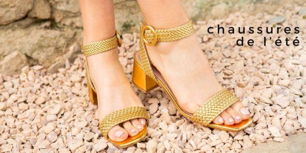 chaussures de l'été