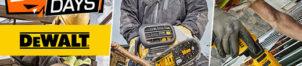 Outillage Dealt : électroportatif et consommables