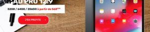 Ipad Pro 12,9″ à partir de 568,99€