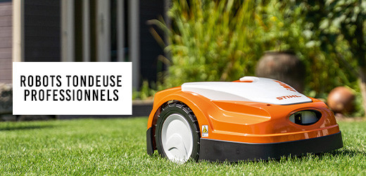 Vente privee robots tondeuses professionnels