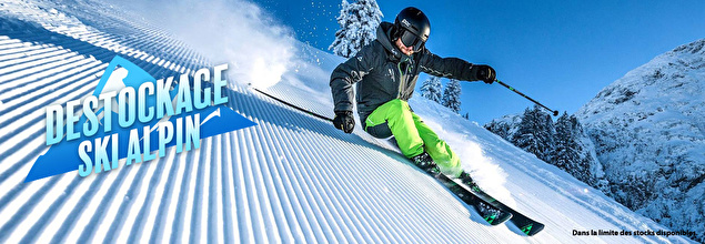 Vente privee skis