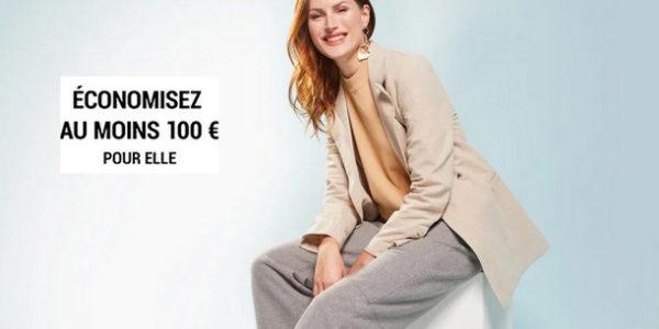 économiez au moins 100€