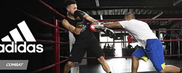Faites des sports de combat avec Adidas