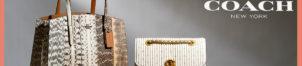Maroquinerie en cuir COACH