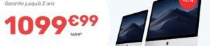 L'Imac 21″ Retina à 1099,99€
