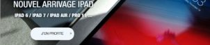iPad : nouvel arrivage