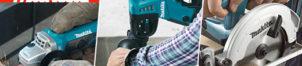 Outillage Makita : électroportatifs professionnels