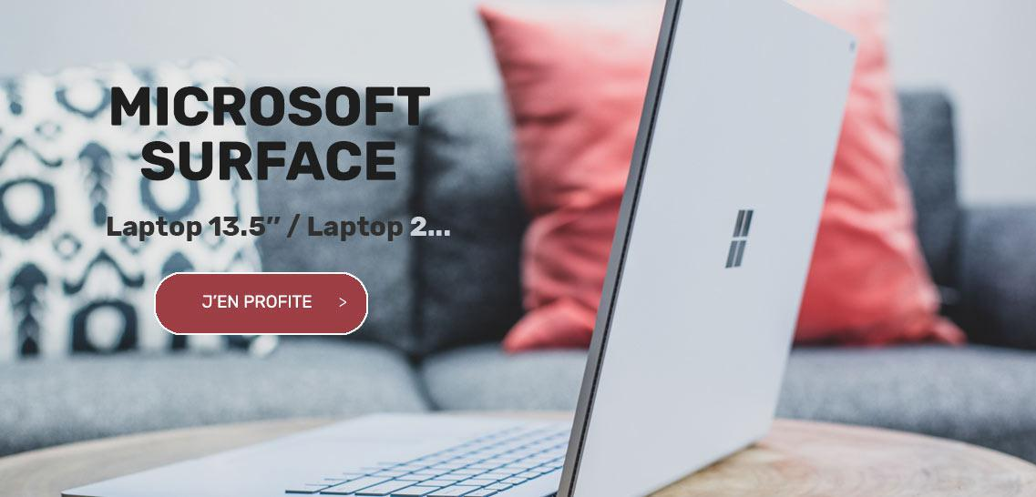 Vente privee microsoft surface laptop