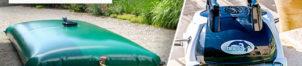 Robots de piscine et citernes souples Aqualux