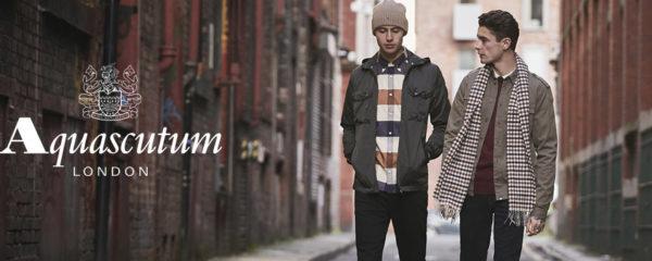 La mode masculine by Aquascutum