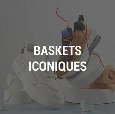 Vente privee baskets iconiques