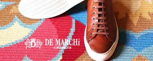 Sneakers en cuir De Marchi