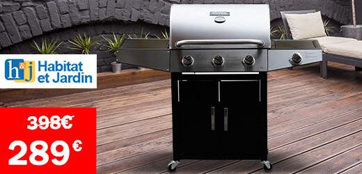Vente privee barbecues à gaz