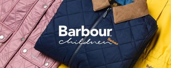 La mode enfantine BARBOUR