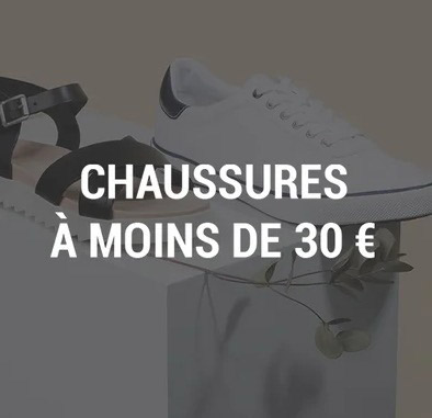 Vente privee chaussures à moins de 30€