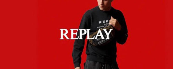 Replay, façon homme !