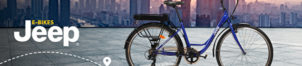 Vélos urbains JEEP