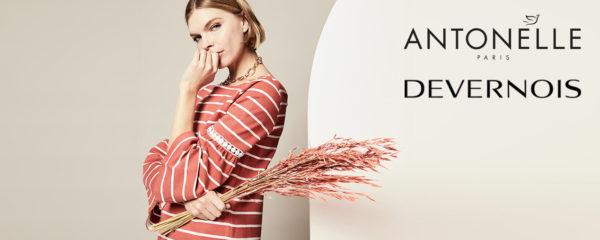 Mode féminine Antonelle et Devernois