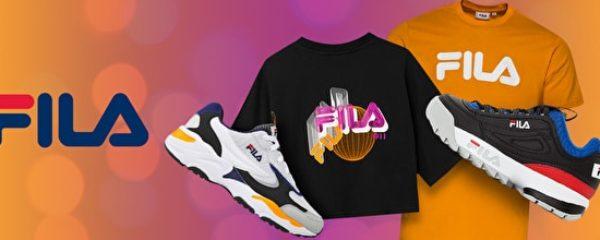 Mode sportswear FILA – Champion
