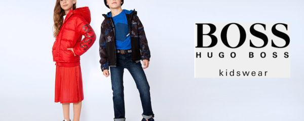 Mode enfantine Hugo Boss
