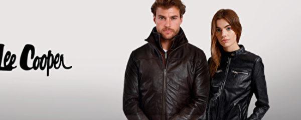 Lee Cooper : vestes en cuir