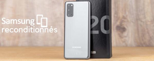 Smartphones & Cie… Samsung reconditionnés
