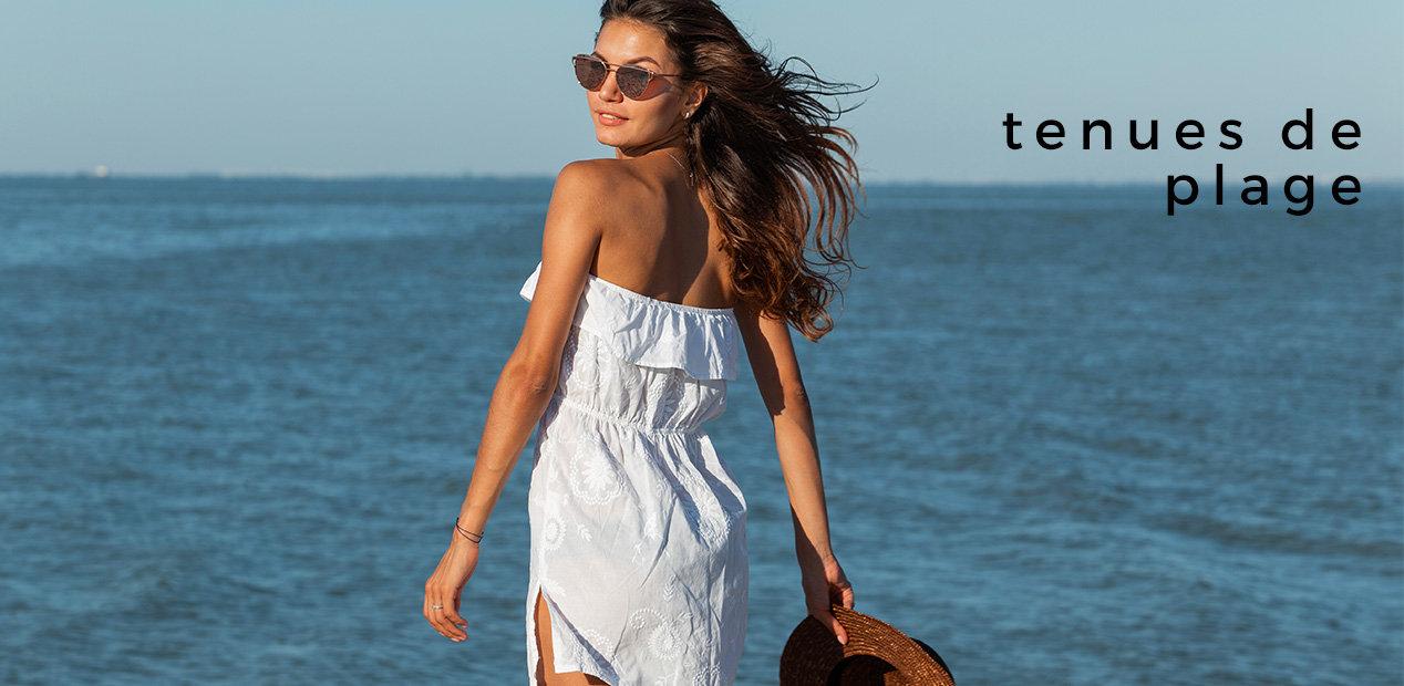 Vente privee robes de plage