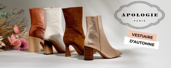 Chaussures Apologie : collection automnale