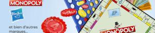 Jeux de société Hasbro – Monopoly…