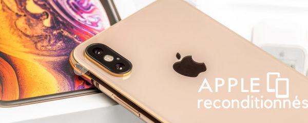 Smartphones & tablettes reconditionnés Apple